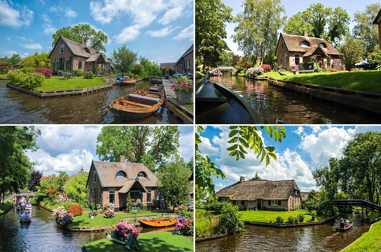 อัมสเตอร์ดัม – หมู่บ้านกีธูร์น – ล่องเรือชมหมู่บ้านกีธูร์น –  อัมสเตอร์ดัม – ย่านยอร์แดน - 2