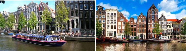 อัมสเตอร์ดัม – โวเลนดัม – ชมเมือง – หมู่บ้านซานสคันส์ชมเมือง – โรงงานชีส – โรงงานรองเท้าไม้ – อัมสเตอร์ดัม ล่องเรือหลังคากระจก - 2