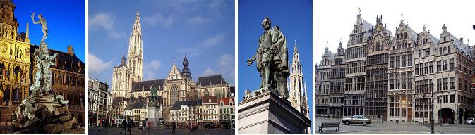 อัมสเตอร์ดัม – แอนต์เวิร์ป – ย่าน ครูนปล้าซ – บรูจ จตุรัสเบิร์ก – จตุรัสมาร์ค - 2