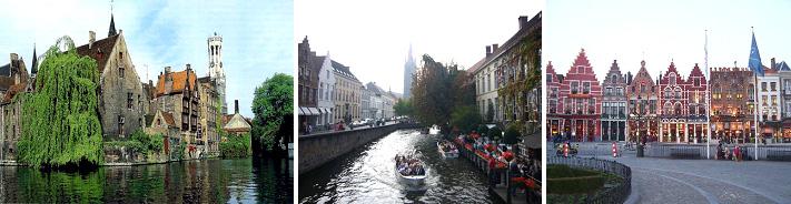 บรูจ – ล่องเรือชมเมืองบรูจ – เก้นท์ – นั่งรถม้าชมเมือง บรัสเซลส์ - 2