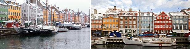 โคเปนเฮเกน – ล่องเรือ – พระราชวังอามาเลียนบอร์ก – ซิตี้ฮอลล์ – Stroget - 2