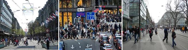 อินเทอลาเก้น – สตัล – กระเช้าคาบริโอ้ – ซูริค – ถนน Bahnhofstrasse - 2