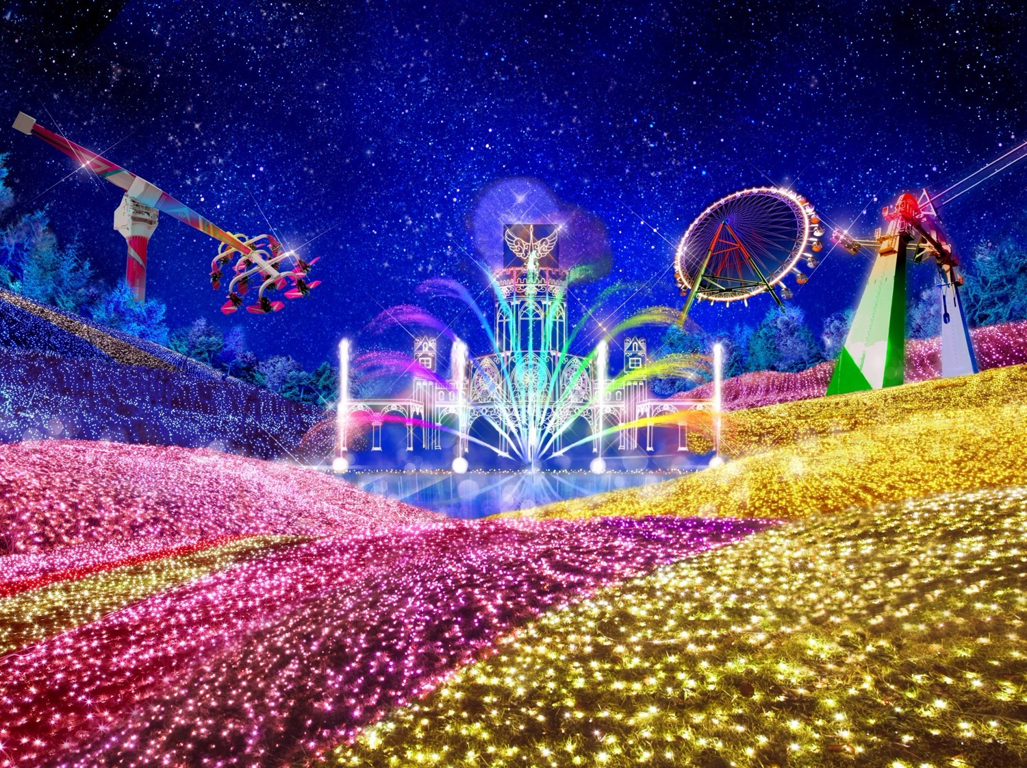Sagamiko Resort Amp Illumination World Surprise Travel