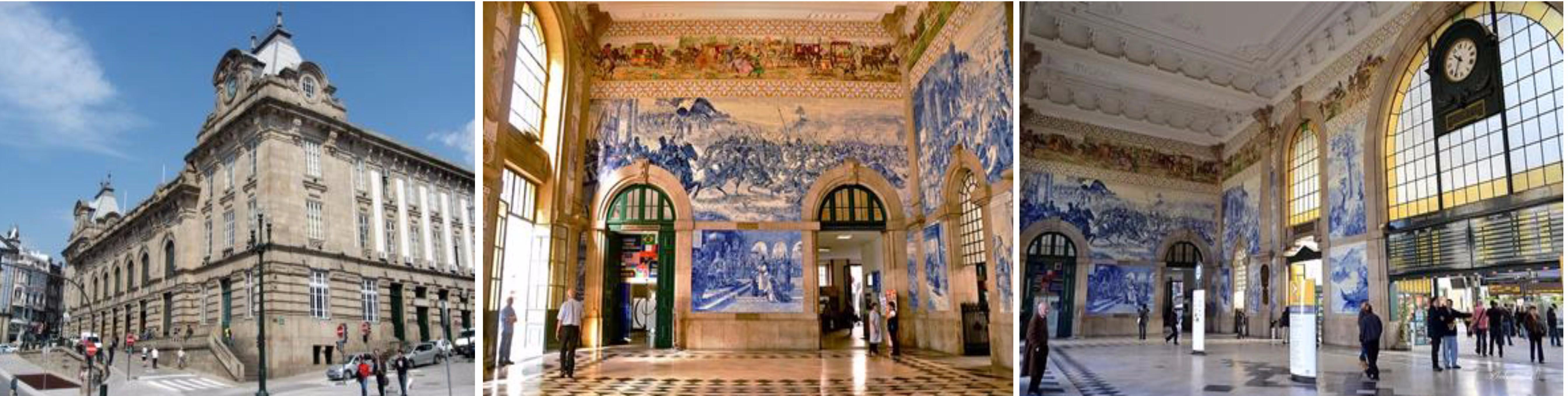 โคอิมบรา – อะเวโร่ – ล่องเรือ – ลิ้มลองขนมท้องถิ่น ovos moles – ปอร์โต้ – สถานีรถไฟ เซา เบนโต – ร้านหนังสือเลลโล่ – Cais da Ribeira – Ponte de D.Luis - 2