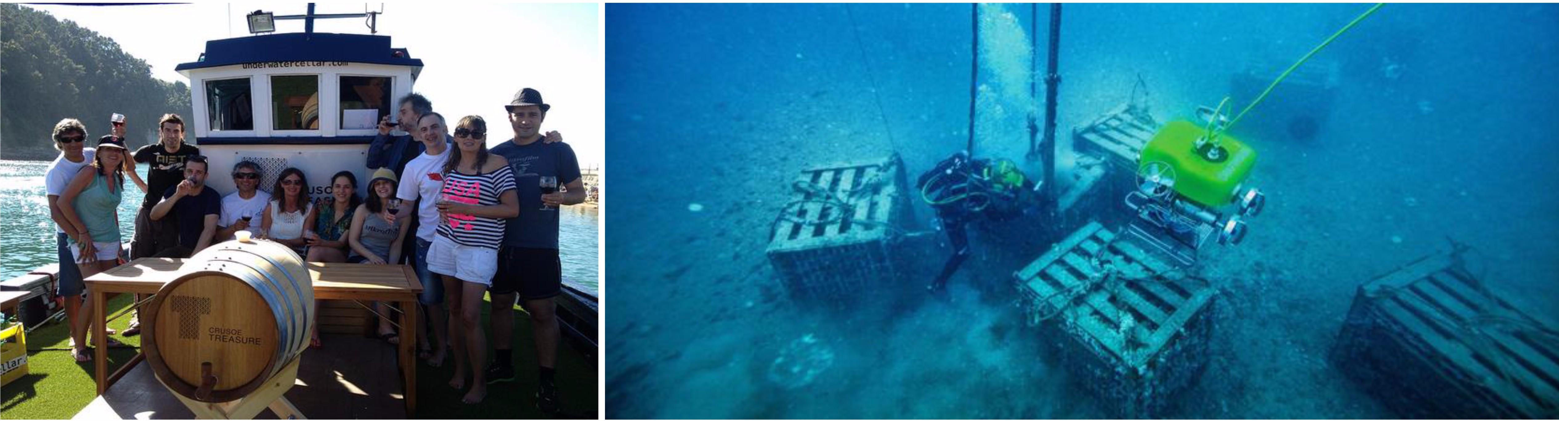 บิลเบา – หาดเพลนท์เซีย – ชิมไวน์ Crusoe Treasure – ซาน ฆวน เด กัสเตลูกัชเช่ – บิลเบา - 2