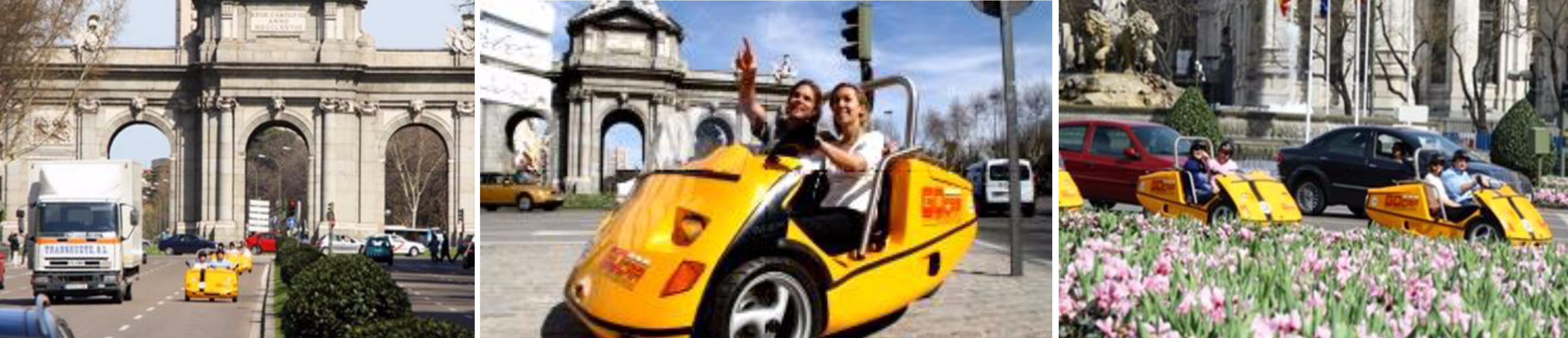 แมดริด – ขับรถโกคาร์ชมเมือง – ถนนกรานเบีย – ช้อปปิ้งย่านถนนเซอราโน่ –  ท่าอากาศยานแมดริด - 2